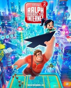Ральф против интернета (2018) — отзывы о фильме зрителей и критиков, актёрский состав, дата выхода в России
