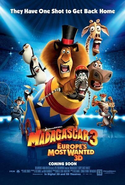 Мадагаскар 3